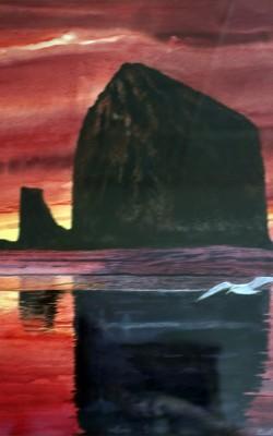 Seagull Rock Sunset