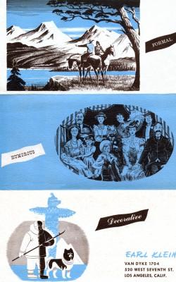 Earl Klein Art Flyer