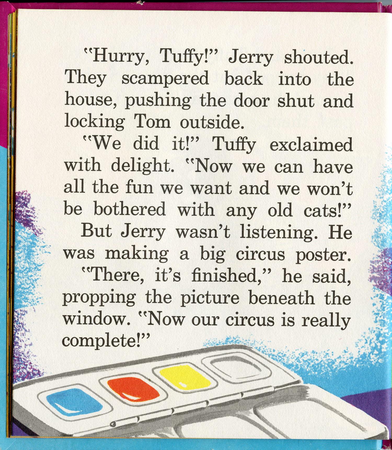 Tom and Jerry Book – Earl Klein Art